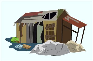 解体したい家